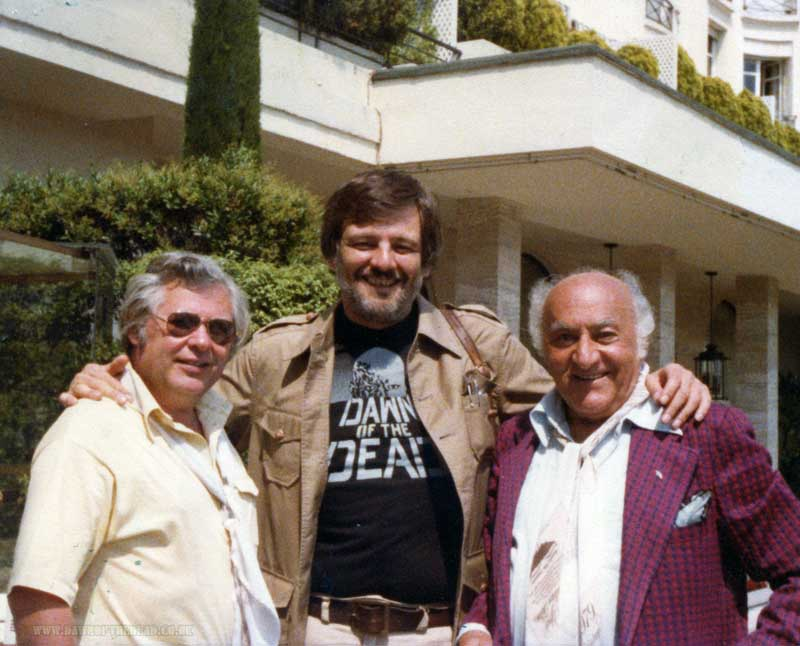 George A Romero and Executive Producers Herbert R Steinmann and Billy Baxter