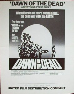 Dawn of the Dead Advertising Press Sheet