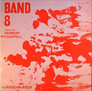 HERBERT CHAPPELL BAND 8 De Wolfe LIBRARY 10″ Vinyl The Gonk