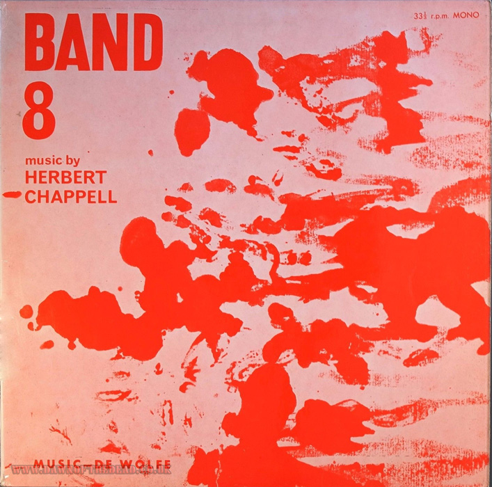 Herbert Chappell Band 8 de Wolfe Library 10' Mono The Gonk Dawn of The Dead OST