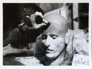 Dawn of the Dead Behind the Scenes photo Jim Krut Helicopter Zombie Head Mould