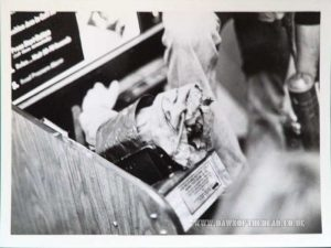 Dawn of the Dead Behind the Scenes Photo Blood Pressure Arm