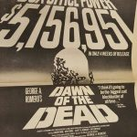 Dawn of the Dead Newspaper Ad Variety May 30th 1979