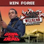 Ken Foree as Peter Washington in George A. Romero's Dawn of the Dead. After the Living Dead take over the world, a group of survivors hold up in a giant shopping Mall in Monroevill, Pittsburgh PA Join us June 9th 10th and 11th in the Monroeville Mall for a Dawn of the Dead Reunion