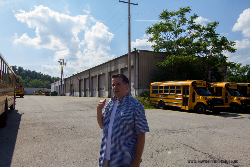 Dawn of the Dead BP Truck Depot Lawrence and Daz June 2017 Living Dead Weekend