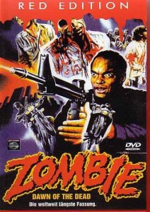 Zombie German Red Edition DVD