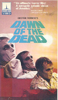 DAWN OF THE DEAD USA THORN EMI VIDEO
