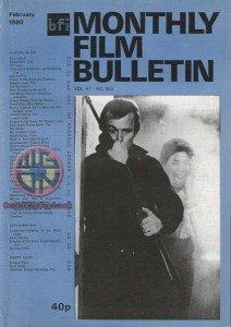 DAWN OF THE DEAD BFI MONTHLY FILM BULLETIN FEB 1980