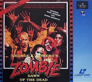 DAWN OF THE DEAD GERMAN ASTRO LIMITED EDITION LASERDISC