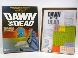 DAWN OF THE DEAD SPI BOARD GAME