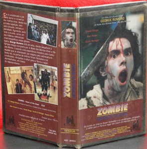 DAWN OF THE DEAD BRAZIL CASTLE VIDEO VHS ZOMBIE