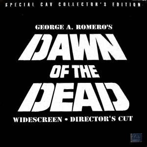 DAWN OF THE DEAD ELITE DIRECTORS CUT LASERDISC