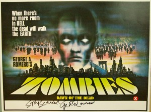 ZOMBIES DAWN OF THE DEAD UK MINI QUAD POSTER