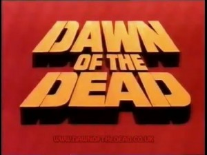 Dawn of the Dead Zombies UK 1988 VHS TRAILER