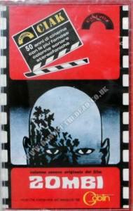 DAWN OF THE DEAD Italian Cinevox Goblin Zombi Cassette