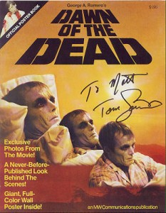 Dawn of the Dead official poster book