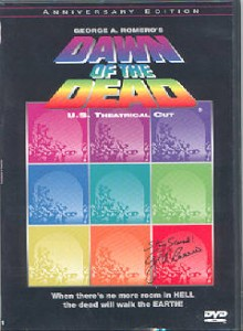 DAWN OF THE DEAD Anchor Bay 20th Anniversary Theatrical Version DVD