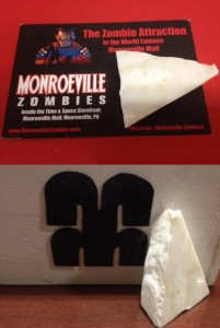 DAWN OF THE DEAD MONROEVILLE MALL MARBLE WALL PIECE