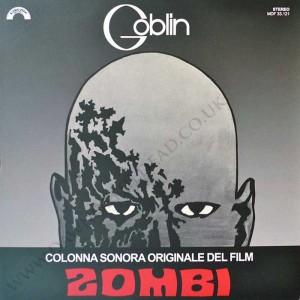 DAWN OF THE DEAD Italian Cinevox Goblin Zombi OST LP AMS LP31