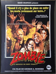 DAWN OF THE DEAD FRENCH FILMPLAKAT POSTER
