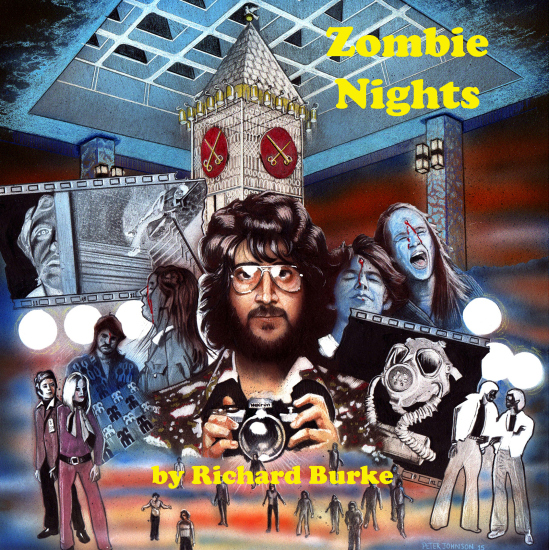 Zombie Nights Book by Richard Burke