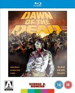 Dawn of the Dead Arrow Blu Ray 3 disc Set
