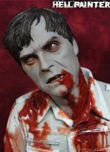 Dawn of the Dead Hellpainter 12 inch Flyboy Zombie figure