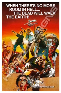 DAWN OF THE DEAD – HI-REZ DESIGNS – BOOTLEG POSTER – FESTIVAL ONE SHEET