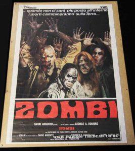 Zombie Japanese Titanus VHD release poster